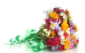 uitvaartbloemen, veldbloemen