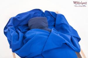 Blauwe canvas afscheidswade - Wikkelgoed
