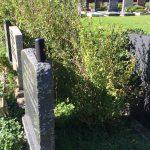 muziek op de begraafplaats, mbv speaker